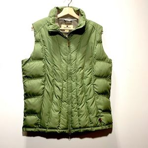 Woolrich puffer insulated full zip vest